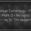 "Signs of ""The End"" in Mark 13? No."