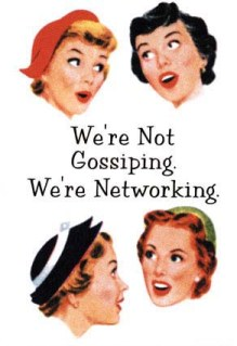 We're networking!