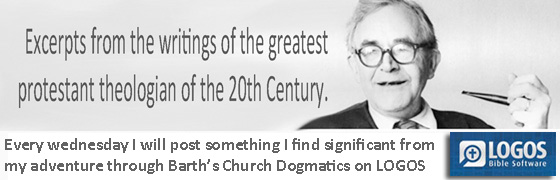Wednesdays with Barth through the lens of Logos Bible Software
