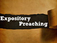 "No, expository preaching isn't ""Biblical,"" but learn to do it anyway!"