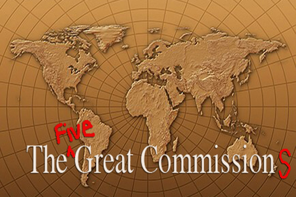 The (five) Great Commission(s).