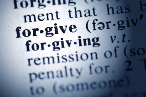 Five things forgiveness is NOT…