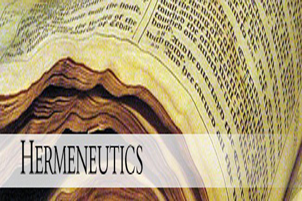 It's the hermeneutics, stupid!