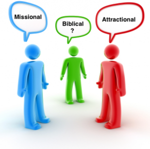 attractional vs. missional