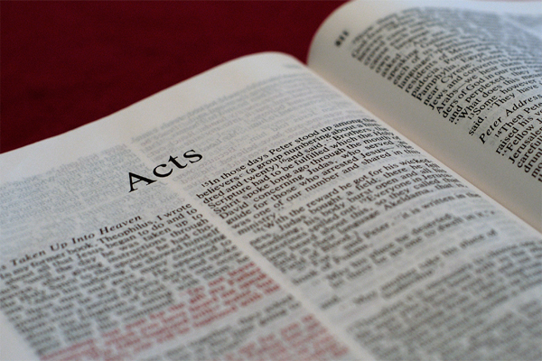 The Acts of… The Word of God