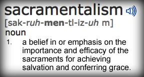 sacramentalism