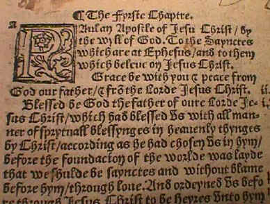 """Why is there no """"Church"""" in Tyndale's Bible?"""