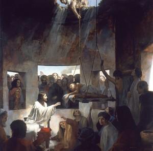 Jesus heals paralytic