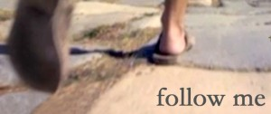 Follow me footsteps