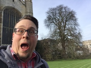 Luke @ King's College, Cambridge