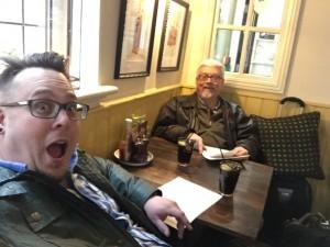 Luke & Steve @ a Pub