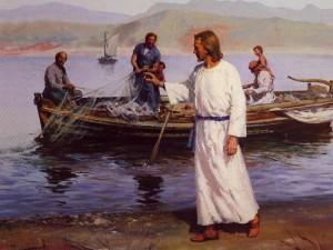 calling fishermen