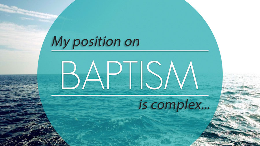 Three Complex(!) Reasons Why I *Think* Dual-Baptism *Might* Work