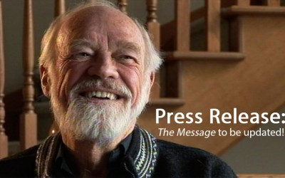 """*BREAKING NEWS*: Eugene Peterson's """"The Message"""" to be Retranslated"""