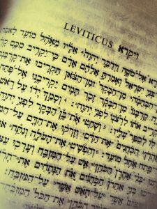 Leviticus_Hebrew Bible