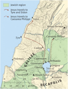 Tyre and sidon_map