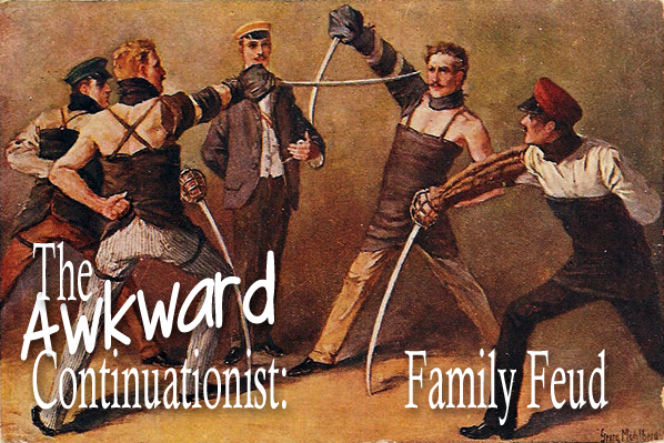 Awkward Continuationist: Family Feud