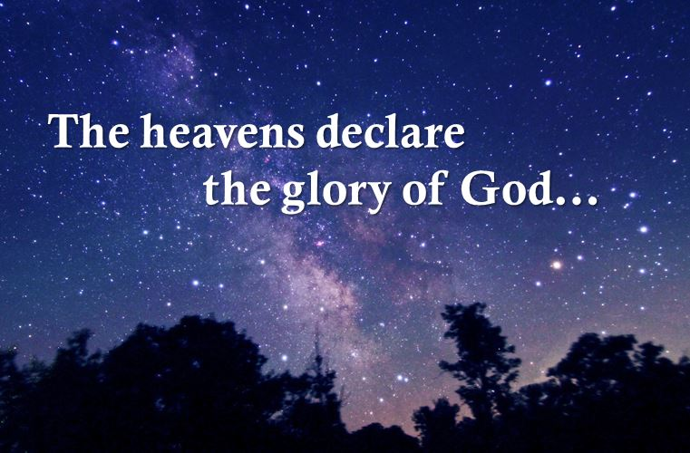 How do the heavens declare the glory of God? Your church's liturgical calendar may have the answer!