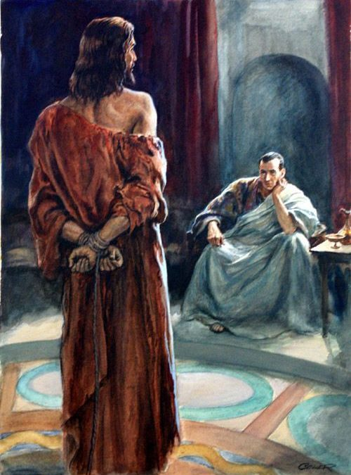 Jesus' Trial Before Pilate? (Follow Me – Part 71)