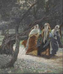 The women flee the tomb