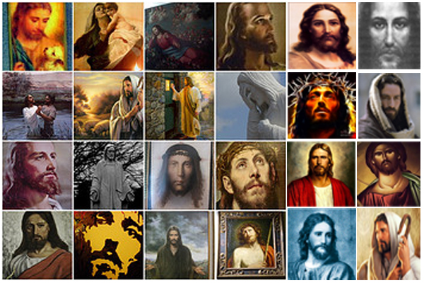 "Some (40) Titles in my ""JESUS"" Library"
