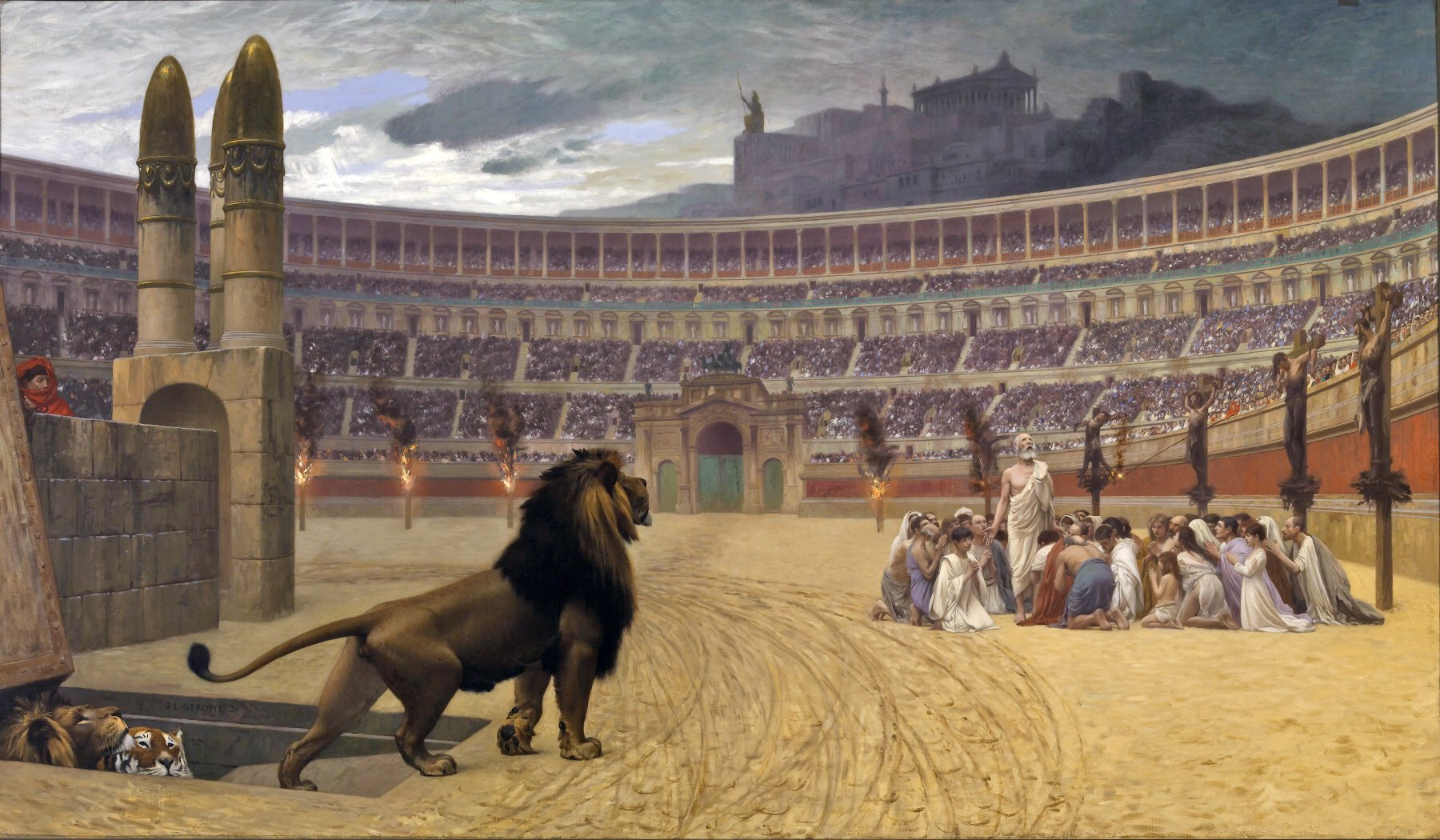 Why Did Nero Throw Christians to the Lions?