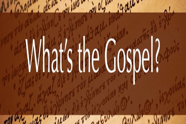 Getting the Gospel (W)right…