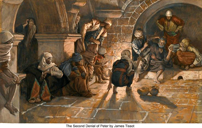 "Meanwhile… Peter's ""Trial"" in the Courtyard (Follow Me – Part 70)"